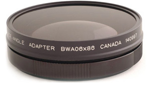 0 6x Wide Angle Adapter for Sony EX1/3, PMW-200/300 or Z7/S270