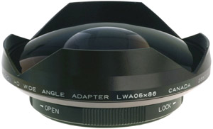 0 5x Wide Angle Adapter for Sony EX1/3, PMW-200/300 or Z7/S270